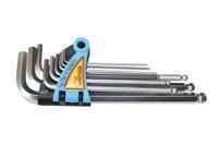 Corona klucze imbusowe calowe 1/16 - 3/8 cala 9 szt