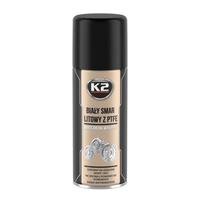 K2 Pro biały smar litowy z PTFE spray 400ml