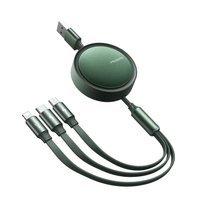 Kabel 3w1 Mcdodo Retractable USB - Lightning + USB-C + microUSB 1,2 m z CA-7251