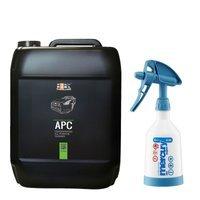 Zestaw: ADBL  APC uniwersalny środek czyszczący 5L + Kwazar opryskiwacz