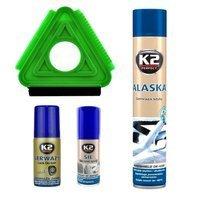 Zestaw: K2 Sil+ Alaska+ Gerwazy+ Skrobaczka