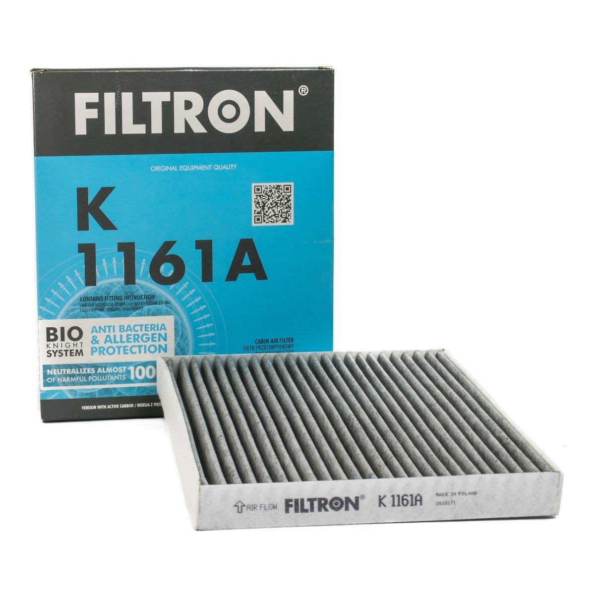 Filtron Filtr Kabinowy K1161a Mazda 6 1 8 2 3i 16v 06 02 Z Węglem Aktywnym Autokosmetyki Autochemia Pl