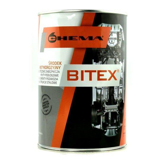 BITEX preparat antykorozyjny do konserwacji podwozia puszka 1L na pędzel