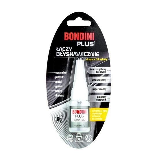 Bondini Plus - uniwersalny klej błyskawiczny 6g
