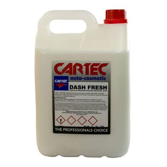 Cartec Dash Fresh preparat do pielęgnacji tworzyw sztucznych i skóry 5L