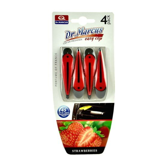 Dr.Marcus Easy Clip - zapach samochodowy Truskawka