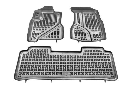 Dywaniki gumowe do samochodu Honda CRV (2002-2007) komplet 3szt