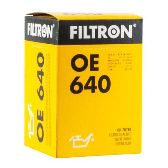 FILTRON filtr oleju OE640 - Volkswagen Passat 2.3 VR6, 2.8 VR6 1/96-