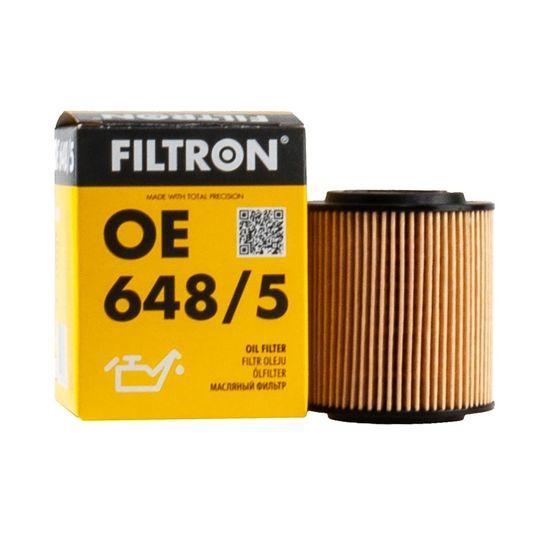 FILTRON filtr oleju OE648/5 - Opel Astra H Zafira II Vectra C 1.9CDTI 16V
