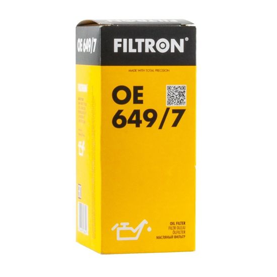 FILTRON filtr oleju OE649/7 - BMW E39/46 320d TD 9/01-