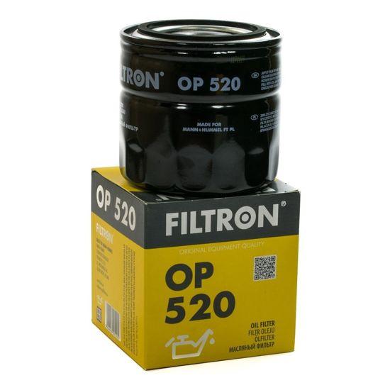FILTRON filtr oleju OP520 - Fiat Polonez Skoda Regata,Argenta,Croma,Ritmo, 1,5,1,6, 135LS,LSE