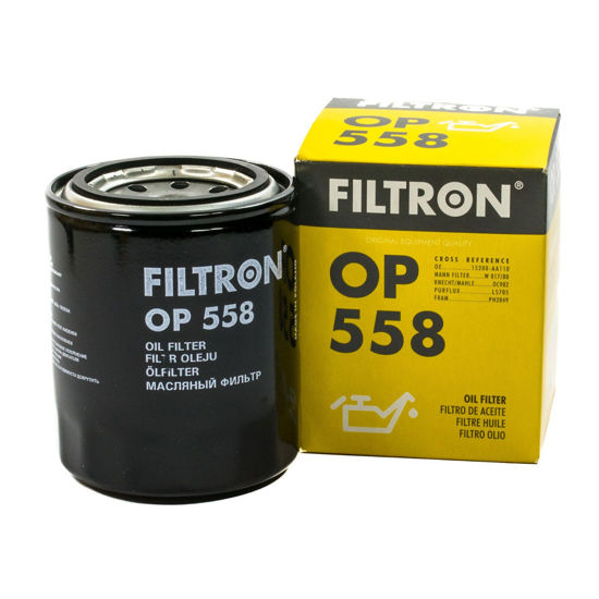 FILTRON filtr oleju OP558 - Hyundai, Isuzu