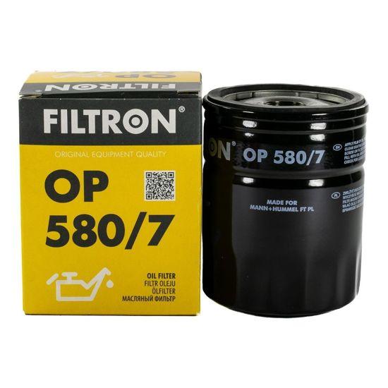 FILTRON filtr oleju OP580/7 - Land Rover Discovery I/II Freelander 1.8/2.0/2.5