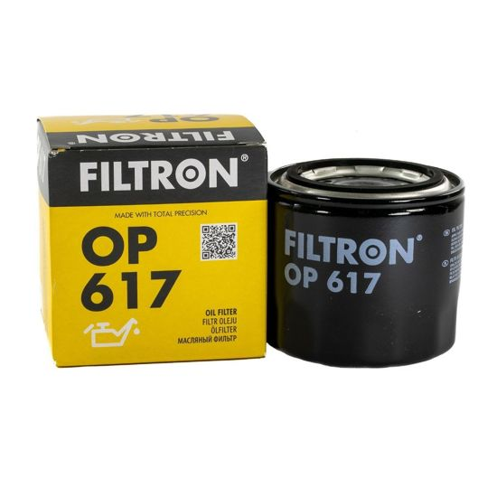 FILTRON filtr oleju OP617 - Hyundai Kia Mazda Mitsubishi Opel Campo Subaru Forester Suzuki