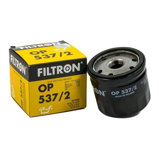 FILTRON fltr oleju OP537/2 - Fiat Stilo 1.9JTD