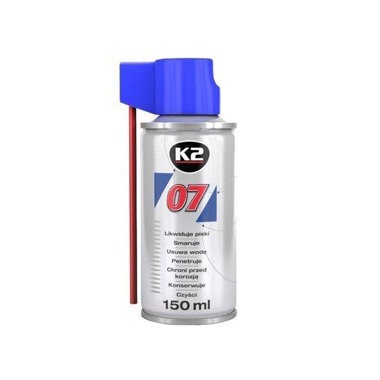 K2 07 smar odrdzewiacz w sprayu wielozadaniowy penetrant 150ml