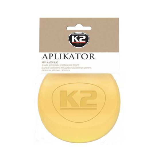 K2 aplikator - gąbka do nakładania wosku i past polerskich