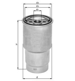 Knecht filtr paliwa KL36 - Audi A8 3,6/4,2 V8, S2