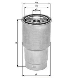 Knecht filtr paliwa KX206D - Fiat, Renault, Iveco 2.8TDi 98->