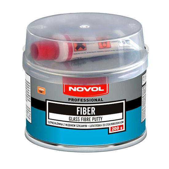 Novol Fiber szpachlówka z włóknem szklanym 200g