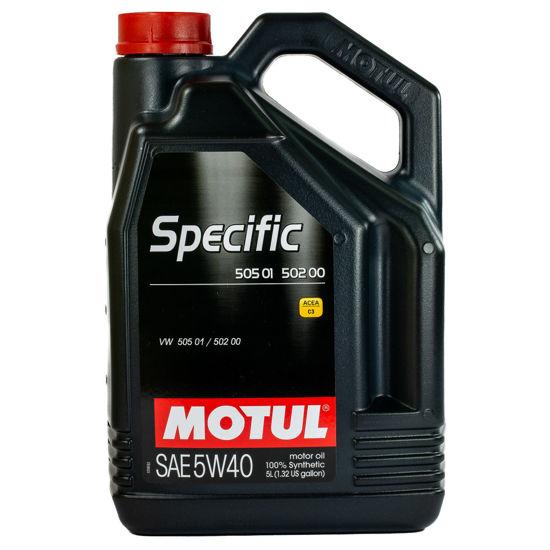 Olej silnikowy Motul Specific 505.01/502.00  5W/40  5L