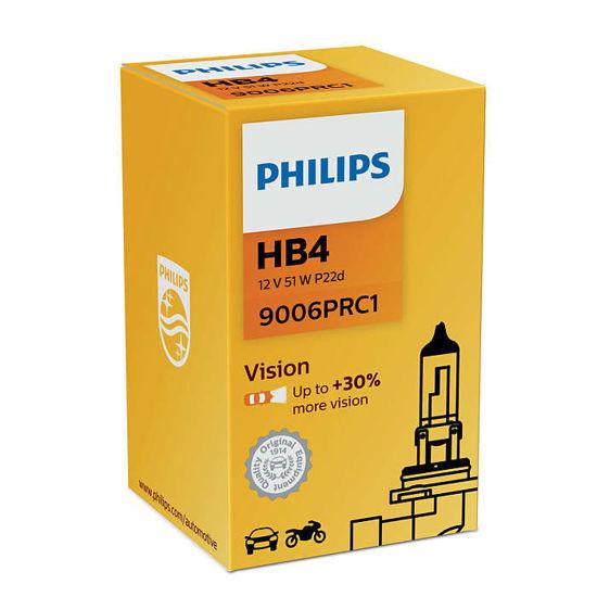 Żarówka samochodowa HB4 55W Philips Vision +30% - 1szt