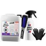 Zestaw:Shiny Garage D-Tox op 5L+butelka+szczotka+rękawice